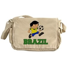 Brazil Soccer Football Messenger Bag