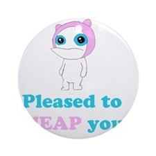meap Round Ornament