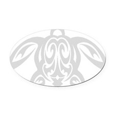 sea_turtle-g Oval Car Magnet