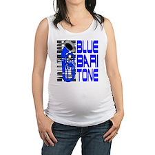 Blue Baritone dk Maternity Tank Top