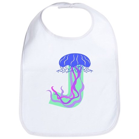 J is for Jellyfish Bib