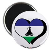 I Love Lesotho 2.25&quot; Magnet (100 pack)