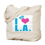 I Love (Heart) L.A. Tote Bag