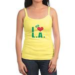 I Love (Heart) L.A. Jr. Spaghetti Tank