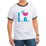 I Love (Heart) L.A. Ringer T