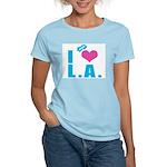 I Love (Heart) L.A. Women's Light T-Shirt