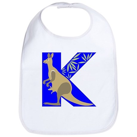 K is for Kangaroo Bib