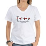 Doula  Women's V-Neck T-Shirt