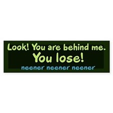 You Lose! Bumper Bumper Sticker