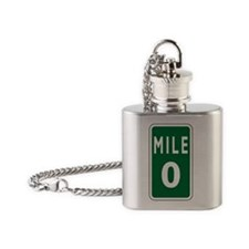 Mile0 Flask Necklace