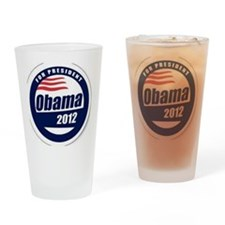 Vote for obama Drinking Glass