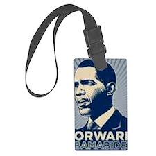 Obama Forward Luggage Tag