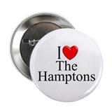 """I Love The Hamptons"" Button"