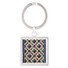 jewel_box_sq Square Keychain
