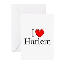 """""""I Love Harlem"""" Greeting Cards (Pk of 10)"""