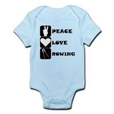 Peace Love Rowing Body Suit