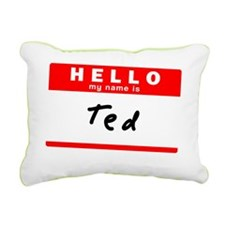 Ted Rectangular Canvas Pillow