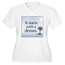 it starts with a  T-Shirt