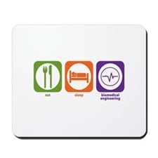Eat Sleep Biomedical Engineering Mousepad