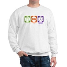 Eat Sleep Biomedical Engineering Sweatshirt
