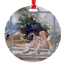 KEEPSAKE-MAKOVSKY GardenCupids Ornament
