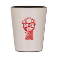 Karl Marx Shot Glass