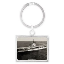 intrepid cva rectangle magnet Landscape Keychain