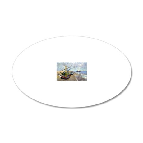 22Cal VG 20x12 Oval Wall Decal
