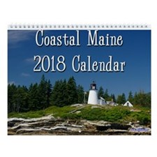 Coastal Maine 2014 Wall Calendar