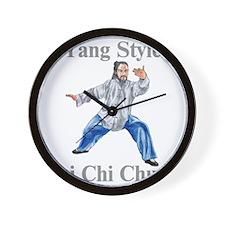 yangstylepartingLight Wall Clock