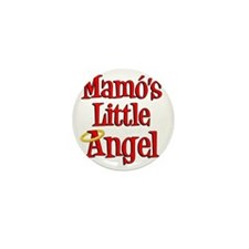 Mamos Little Angel Mini Button