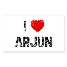 I * Arjun Rectangle Decal