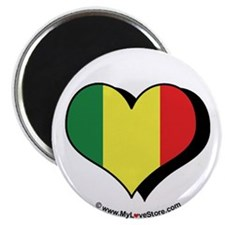 "I Love Mali 2.25"" Magnet (100 pack)"