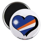 "I Love The Marshall Islands 2.25"" Magnet (100 pac"