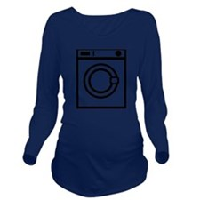 washing_machine Long Sleeve Maternity T-Shirt