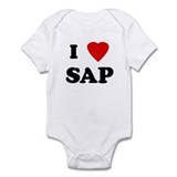 I Love SAP Onesie