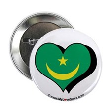 "I Love Mauritania 2.25"" Button (100 pack)"
