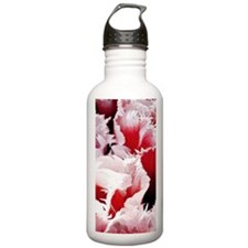 pink tulip ipod touch Water Bottle