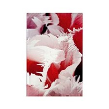 pink tulip itouch 4 Rectangle Magnet