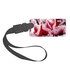 pink tulip sm framed print 3 Luggage Tag