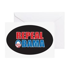 REPEAL OBAMA Greeting Card