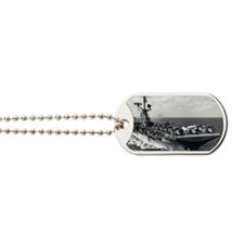 kearsarge cvs rectangle magnet Dog Tags