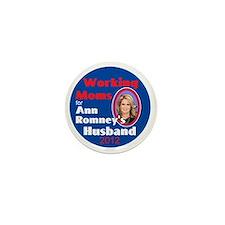 ANN ROMNEY Mini Button