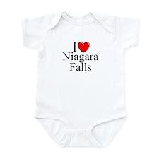 """I Love Niagara Falls"" Infant Bodysuit"