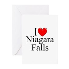 """I Love Niagara Falls"" Greeting Cards (Package of"