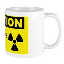 Caution-MICROWAVE-IN-USE Mug