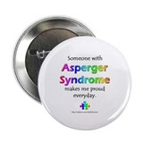 """Asperger Syndrome Pride"" Button"