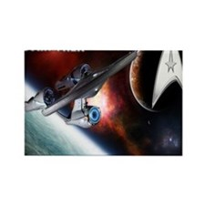 Star Trek New mousepad Rectangle Magnet