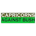 Capricorns Against Bush Bumper Sticker