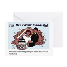 His Favor Greeting Card